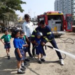 Fire Fighter's Visit