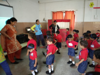 First Day in Ashish Nursery School